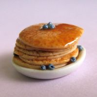Blueberry Pancake Breakfast by MyLitteLunchBox