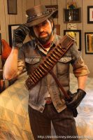 John Marston cosplay (work in progress) by BishonenHouse