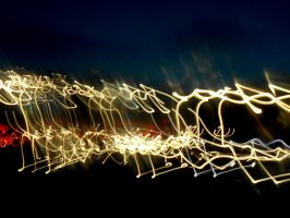 Stock Texture - Light trails IV by rockgem