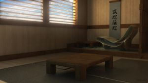Japanese Interior by razfoil