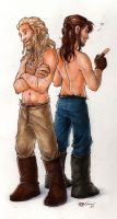 My favourite dwarves by CaptBexx