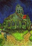 van Gogh's Church in Auvers by AnnaSulikowska