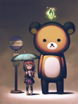 My Neighbour Rilakkuma by Micchu