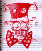Mr. Smiley's in your copybook by frisca-freak