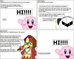 Brawl interviews- Kirby series by The-DCE