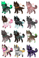 adoptables 9 by carocool