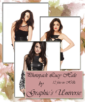 Photopack #05 Lucy Hale by GraphicsUniverse