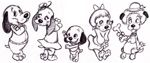 Pound Puppies by ShoJoJim