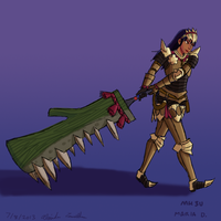 MH: Ignot Armor Blade by Daowg