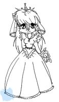 Sally's Wedding Dress by bluefantasy