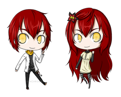 The Twins by alicenpai