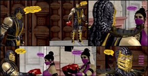Mileena's Party part 9 by Texmoder