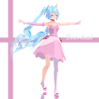 Candy World Miku ..::Dl::.. by Espirea