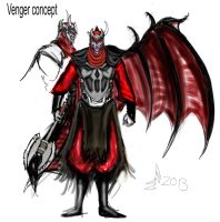 Venger Concept- Dungeons and Dragons by legendbourne