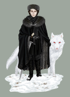Lord Snow by Hrivalasse