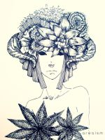 Botany girl I by areiaism