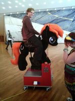 Quick View Our new Pony Ride - pics coming by AtalontheDeer
