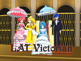 Victorian Vocaloid by AshsFire