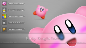 Kirby Single Icon by Kshegzyaj