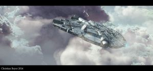 Millennium Falcon YT-1300 by ChristianBeyer