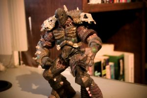 Spawn Action Figure by EvilFrogo