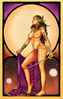 Nouveau Dejah Thoris by Forty-Fathoms