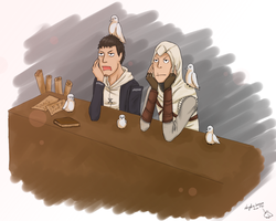 Altair and Malik by Angel-In-Imagination
