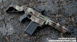 Jungle Camo Nerf Retaliator by JohnsonArms