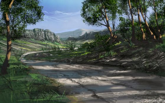 07-Road at Morning by LJFHutch