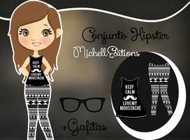 Conjunto Hipster by MichellEditions