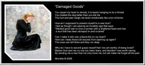 Damaged Goods by VisualPoetress