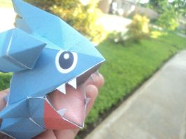 Gible papercraft by xraiine