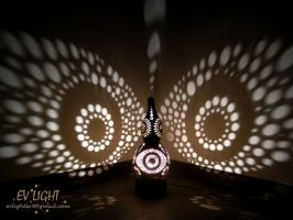 GOAUAN gourd lamp night IV by EvaLightArt