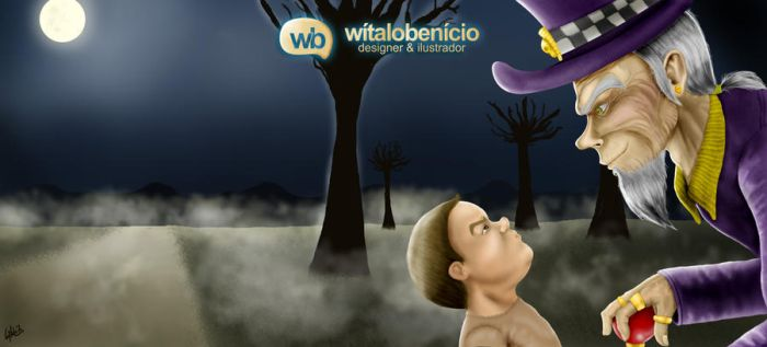 Soul Colector and a Lost Boy by WitaloBDesign