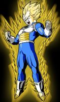 prince vegeta by fear229