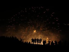 July 4th at Stone Mountain by pwg