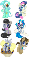 Background 6 Shrinkies by BaldDumboRat