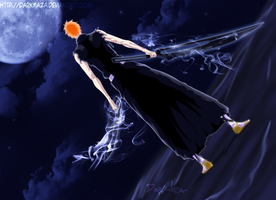 Bleach 542 ~ Zangetsus by DarkMaza