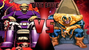 Mongul vs Thanos by Dynamo1212