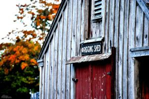 Riggin Shed by DhxFoto