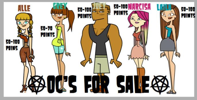 Oc's For Sale! by Gaby2003