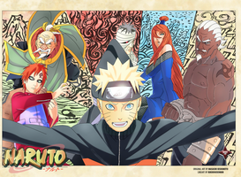 The Five Kages Meet by uchihadood