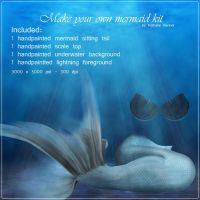 Mermaid Kit - Nathalie-Bennet by TUBE-TRADERS