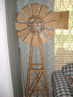 Windmill Clock by Sawdust013