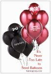 Its Never Too Late To Send Balloons by ibjennyjenny