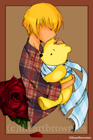 Christopher Robin and Pooh by iheartbrownies