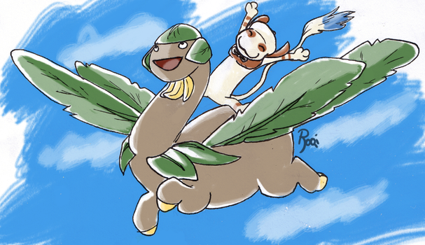 lets go flyyying- by Roqi