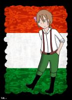 [APH] Male Hungary by darkcreamz95