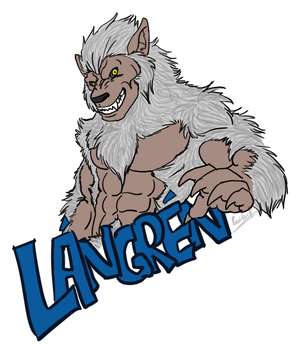 The First Badge for Langren by bcbreakaway