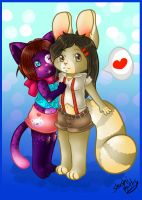 Hug for Absol by ShushiKitty